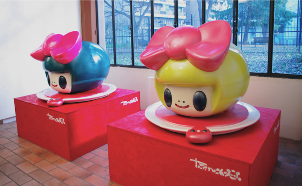 Le due sculture in 3D di Tomoko Nagao, realizzate da Sismaitalia