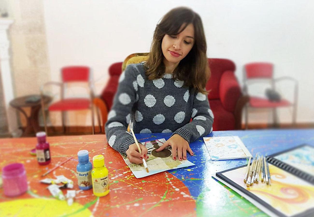 Angela Capacchione, grafica e illustratrice
