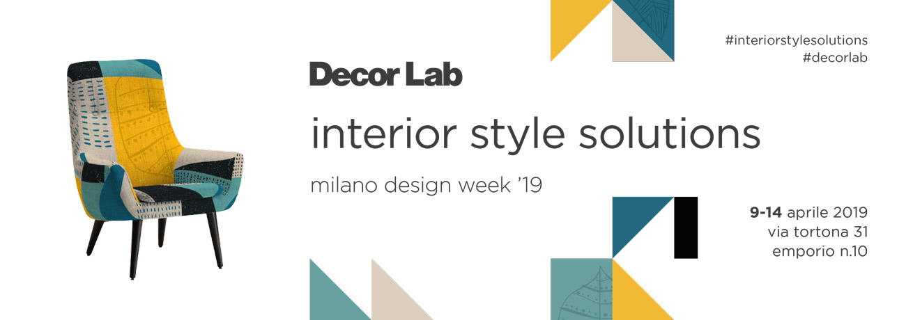Decor Lab Milano Design Week